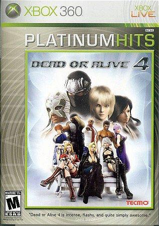 Dead or alive 4 - Xbox 360 ( USADO )