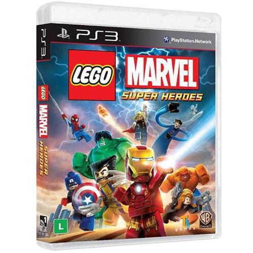 Lego Marvel Super Heroes - PS3 ( USADO )