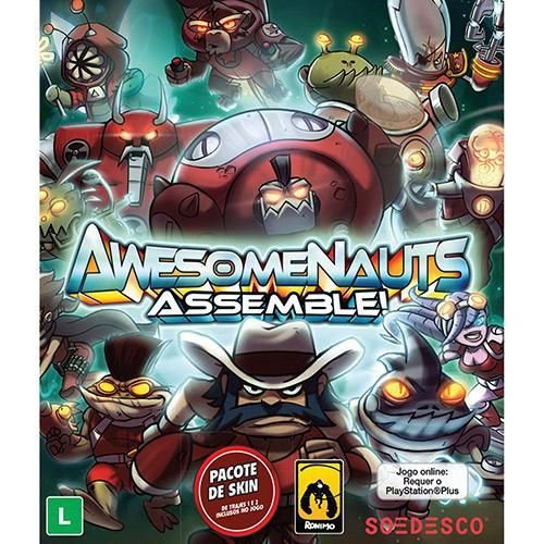Awesomenauts: Assemble - PS4 ( USADO )