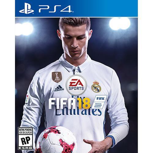 FIFA 18 - PS4 ( USADO )