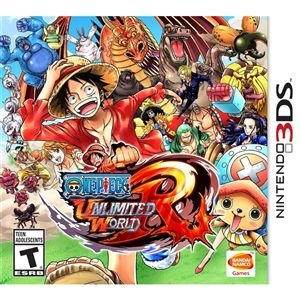 One Piece: Unlimited World Red - 3DS (USADO )