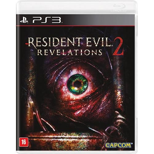 Resident Evil Revelations 2 - PS3 ( USADO )