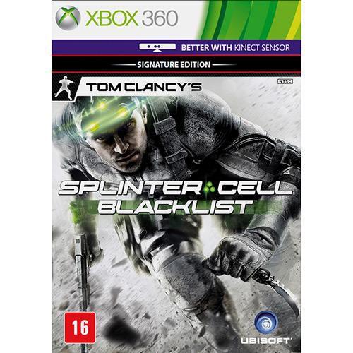 Tom Clancy's Splinter Cell: Blacklist  - XBOX 360 ( USADO )