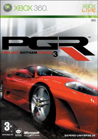 Project Gotham Racing 3 - PGR3 - XBOX 360 ( USADO )