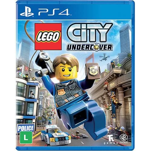 Lego City Undercover - PS4 ( USADO )