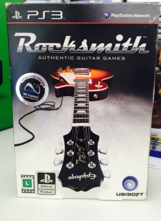 Rocksmith Jogo + Cabo - PS3 ( USADO )