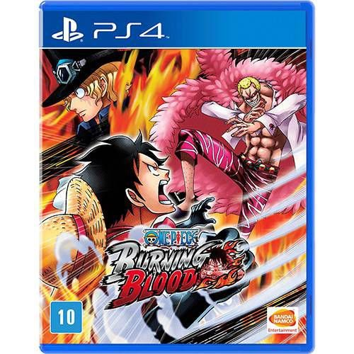 One Piece: Burning Blood - PS4 ( USADO )