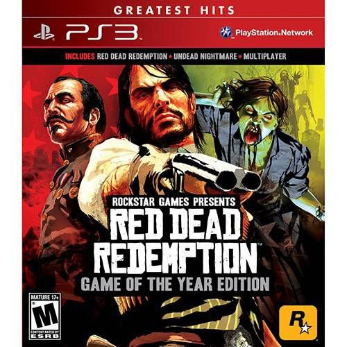 Red Dead Redemption: Goty - Game of The Year Edition - PS3 ( NOVO )