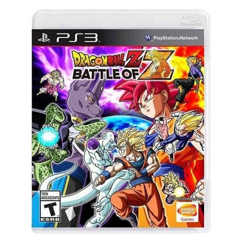 Dragon Ball Z Battle Of Z - Ps3 ( USADO )
