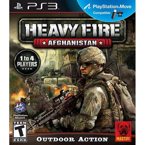 Heavy Fire - Afghanistan - PS3 ( USADO )
