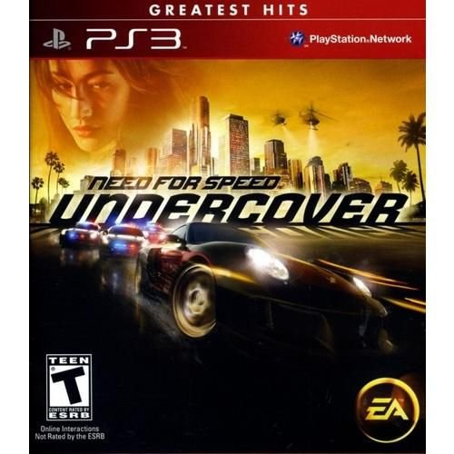 Need For Speed Undercover - Ps3 ( USADO )