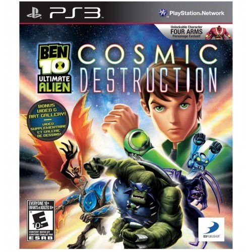 Ben 10 Ultimate Alien - PS3 ( USADO )