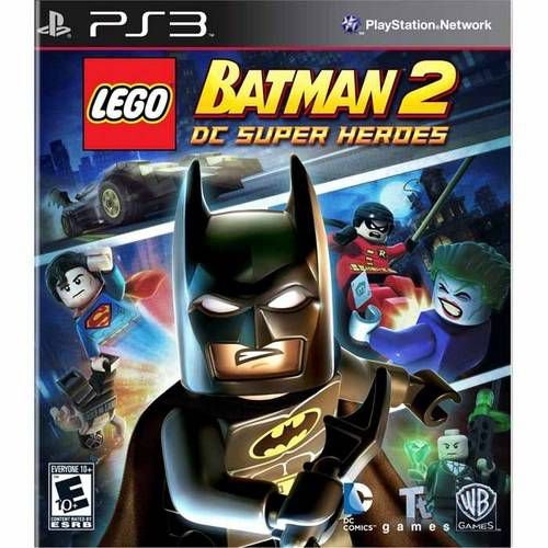Lego Batman 2  Dc Super Heroes - Ps3 ( USADO )
