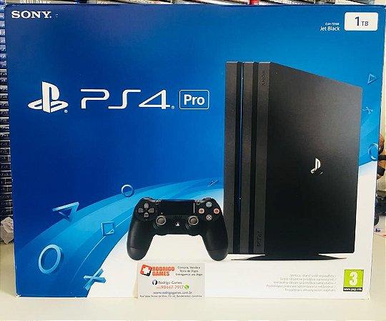 Console PS4 Pro 1TB