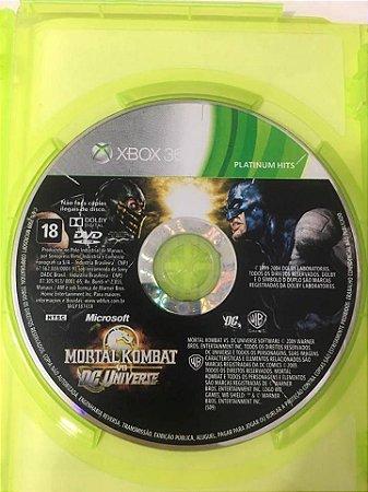 Mortal kombat vs DC universe - Xbox 360 ( USADO somente o CD )