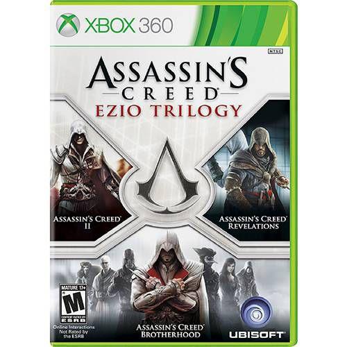 Assassins Creed: Ezio Trilogy - Xbox 360 ( USADO )