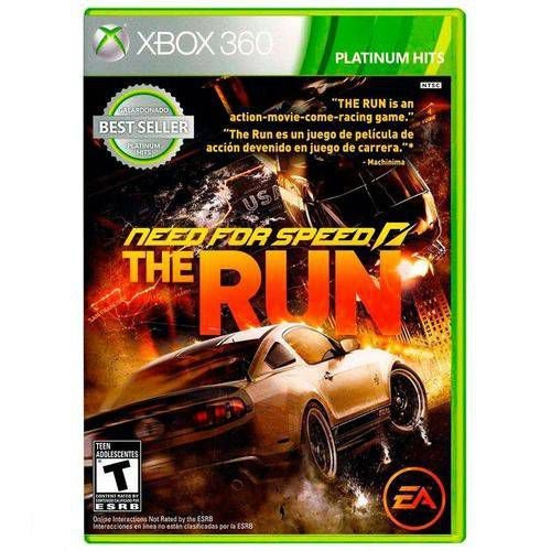 Need For Speed The Run - Xbox 360 ( USADO )