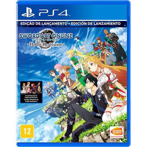 Sword Art Online: Hollow Realization - PS4 ( USADO )