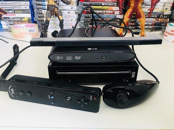 Console - Nintendo Wii + Acessórios  ( USADO )