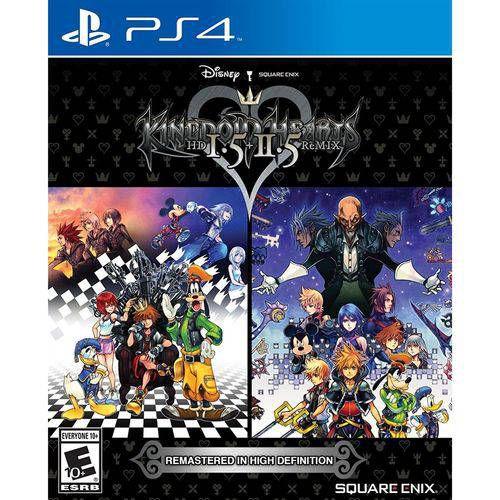 Kingdom Hearts HD 1.5+2.5 Remix - Ps4 ( USADO )