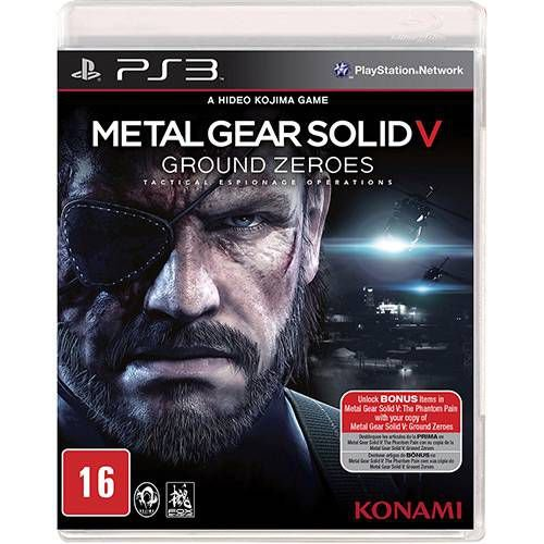 Metal Gear Solid V Ground Zeroes - PS3 ( USADO )