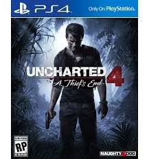 UNCHARTED 4: A THIEF'S END - PS4 ( USADO Capa de Papelão )