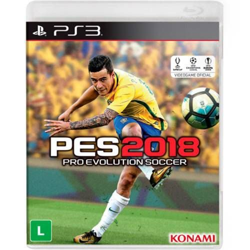 Pes 18 Pro Evolution Soccer 2018 - PS3 ( USADO )