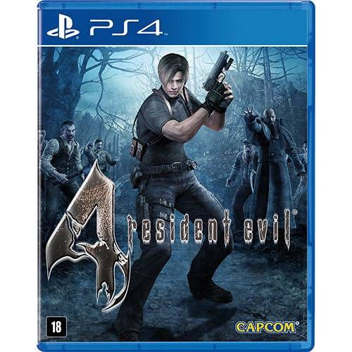 Resident Evil 4 Remastered - PS4 ( USADO )