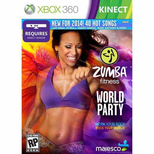 Zumba Fitness World Party - Xbox 360 ( USADO )
