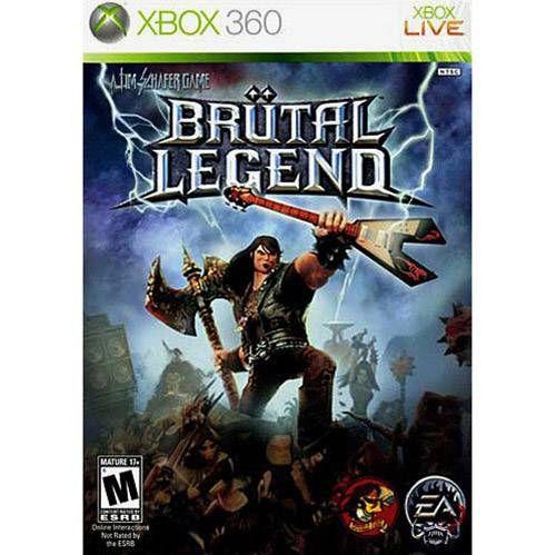 Brutal Legend - XBOX 360 ( USADO )