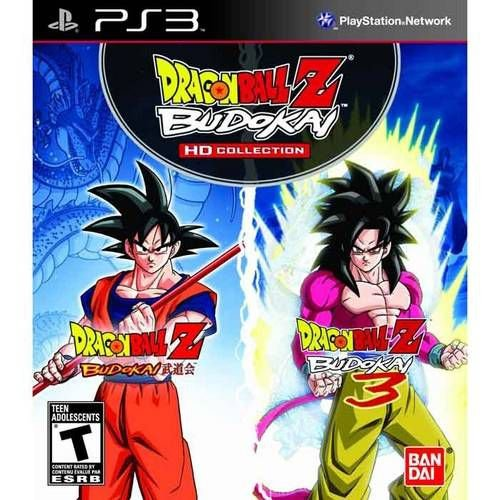 Dragon Ball Z Budokai Hd Collection - Ps3 ( USADO )