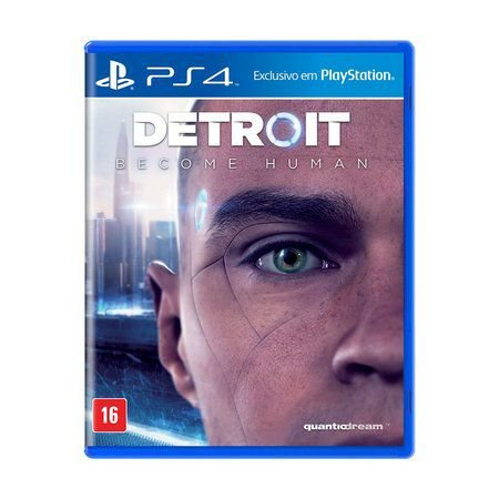 Detroit Become Human - PS4 ( NOVO )