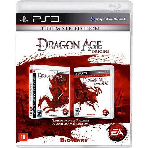 Dragon Age Origins: Ultimate Edition - PS3 ( USADO )