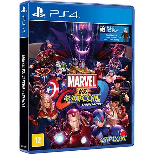 Marvel Vs Capcom Infinite - PS4 ( USADO )
