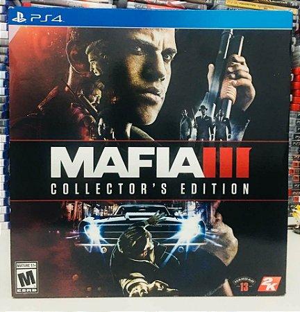 Máfia 3 Edição de Colecionador - PS4 ( USADO )