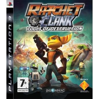 Ratchet & Clank Future Tools Of Destruction - PS3 ( USADO )