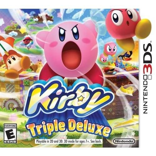 Kirby Triple Deluxe - 3DS ( USADO )