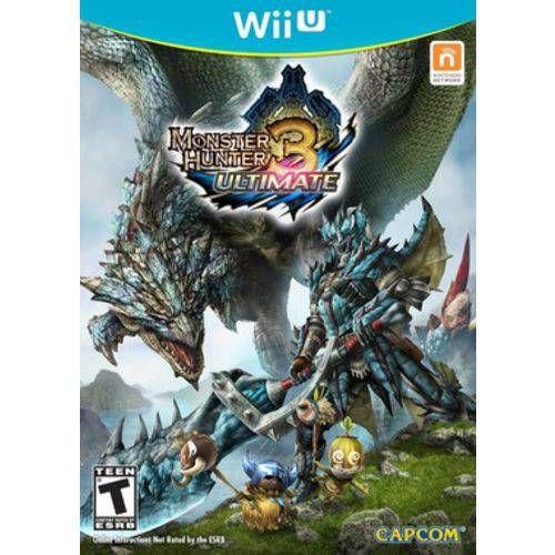 Monster Hunter 3 Ultimate - Wii U ( USADO )