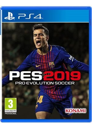 Pro Evolution Soccer 2019 (PES 19) - PS4 ( USADO )