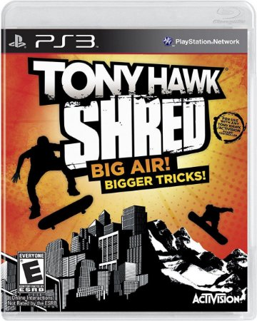 Tony Hawk: Shred - PS3 ( USADO )