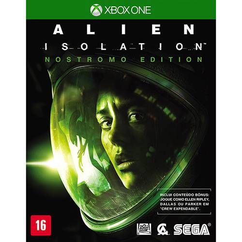 Alien Isolation - Nostromo Edition - XBOX ONE ( USADO )