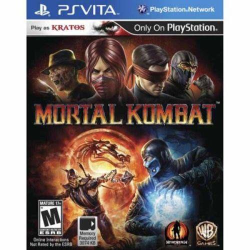 Mortal Kombat - Ps vita ( USADO )