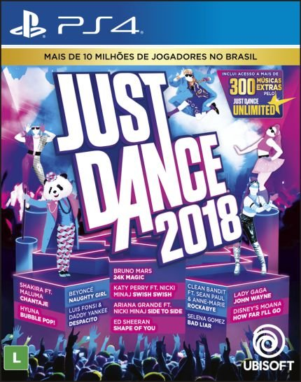 Just Dance 2018 - PS4 ( USADO )