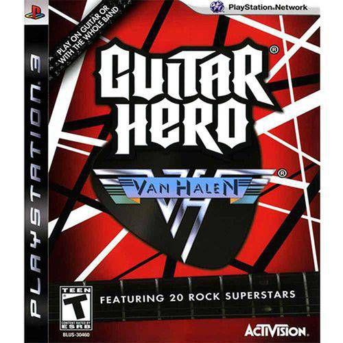 Guitar Hero Van Halen - Ps3 ( USADO )