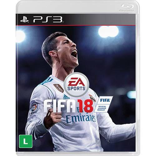 FIFA 18 - PS3 ( USADO )