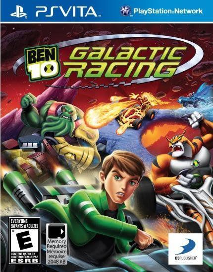 Ben 10 Galactic Racing - Ps Vita ( USADO )