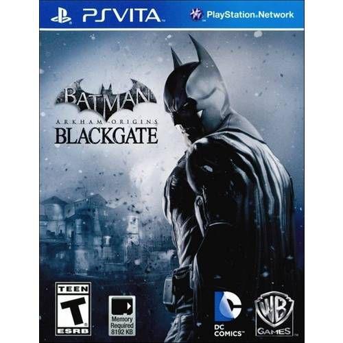 Batman: Arkham Origins Blackgate - PS Vita ( USADO )