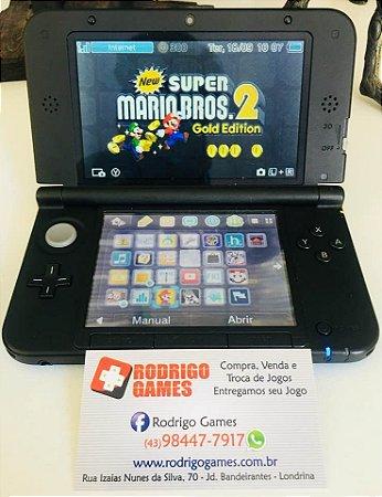 Nintendo 3DS XL com cartão de 32GB ( USADO )