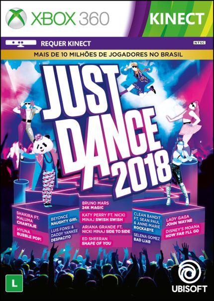 Just Dance 2018 - Xbox 360 ( USADO )