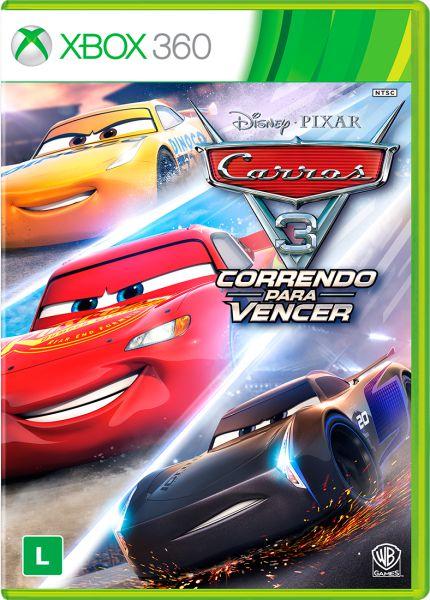 Carros 3 - Correndo Para Vencer - Xbox 360 ( USADO )